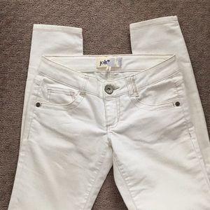 JOLT white skinny jeans 3